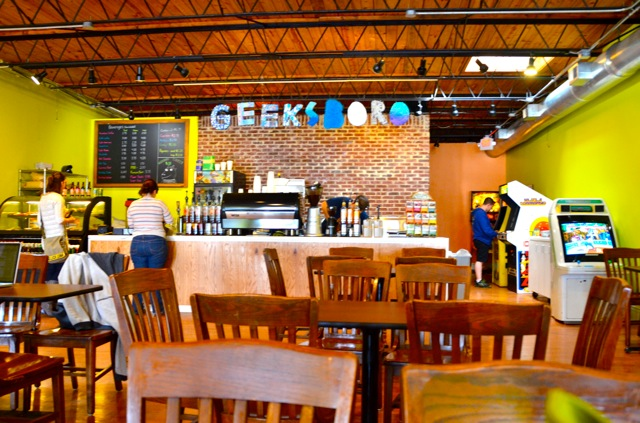Geeksboro, venue for Sistah Sinema Greensboro