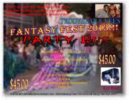 Teddybear & Vee's Fantasy Fest 2013 Party Bus