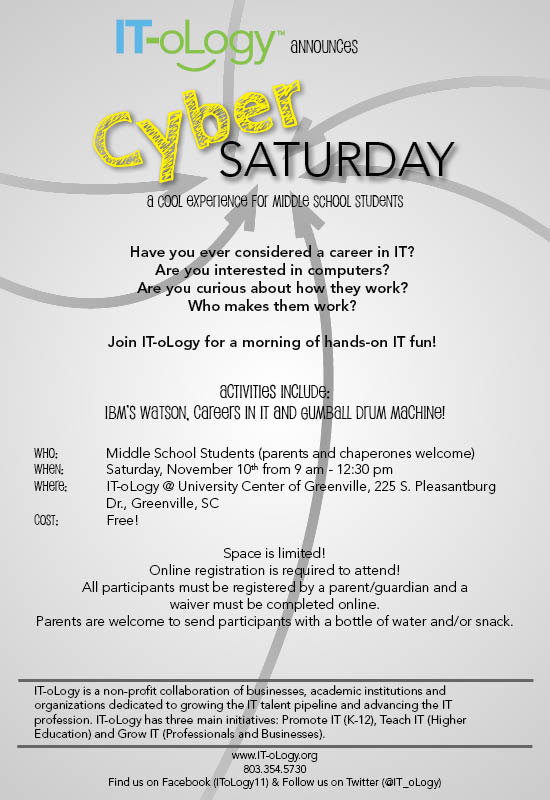 Cybersaturday event details