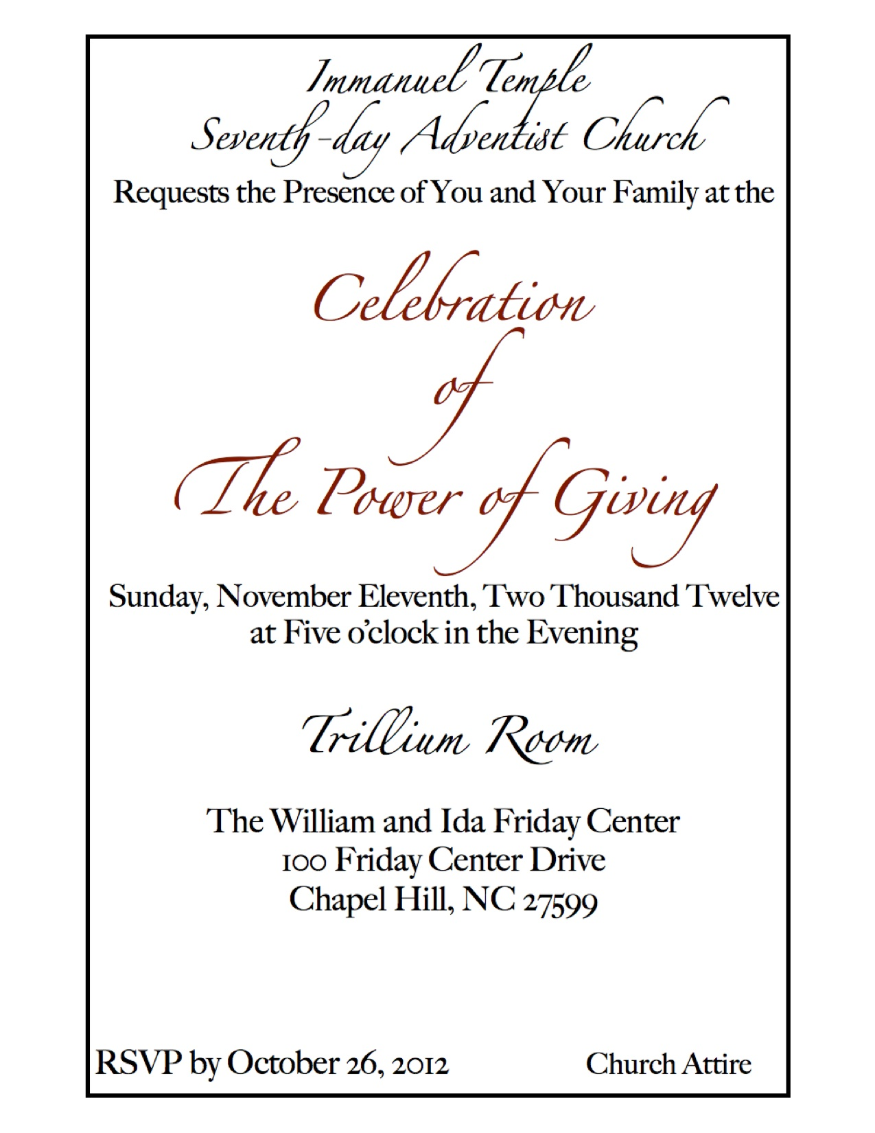 banquet invitation click for details or church banquet invitation ...