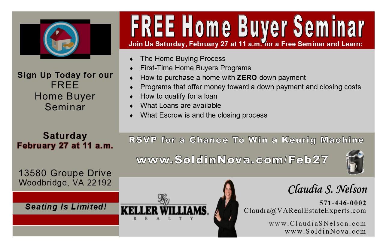 FREE Home Buyer Seminar #HomeBuyerFeb27 Tickets, Sat, Feb ...