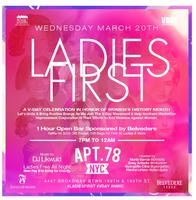 Ladies First: A V-Day Celebration in Honor of Women's...