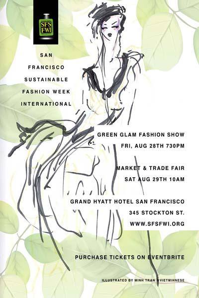 SFSFWI Green Glam and Market & Trade Fair Flyer