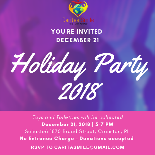 Caritas Smile Holiday Party 2018