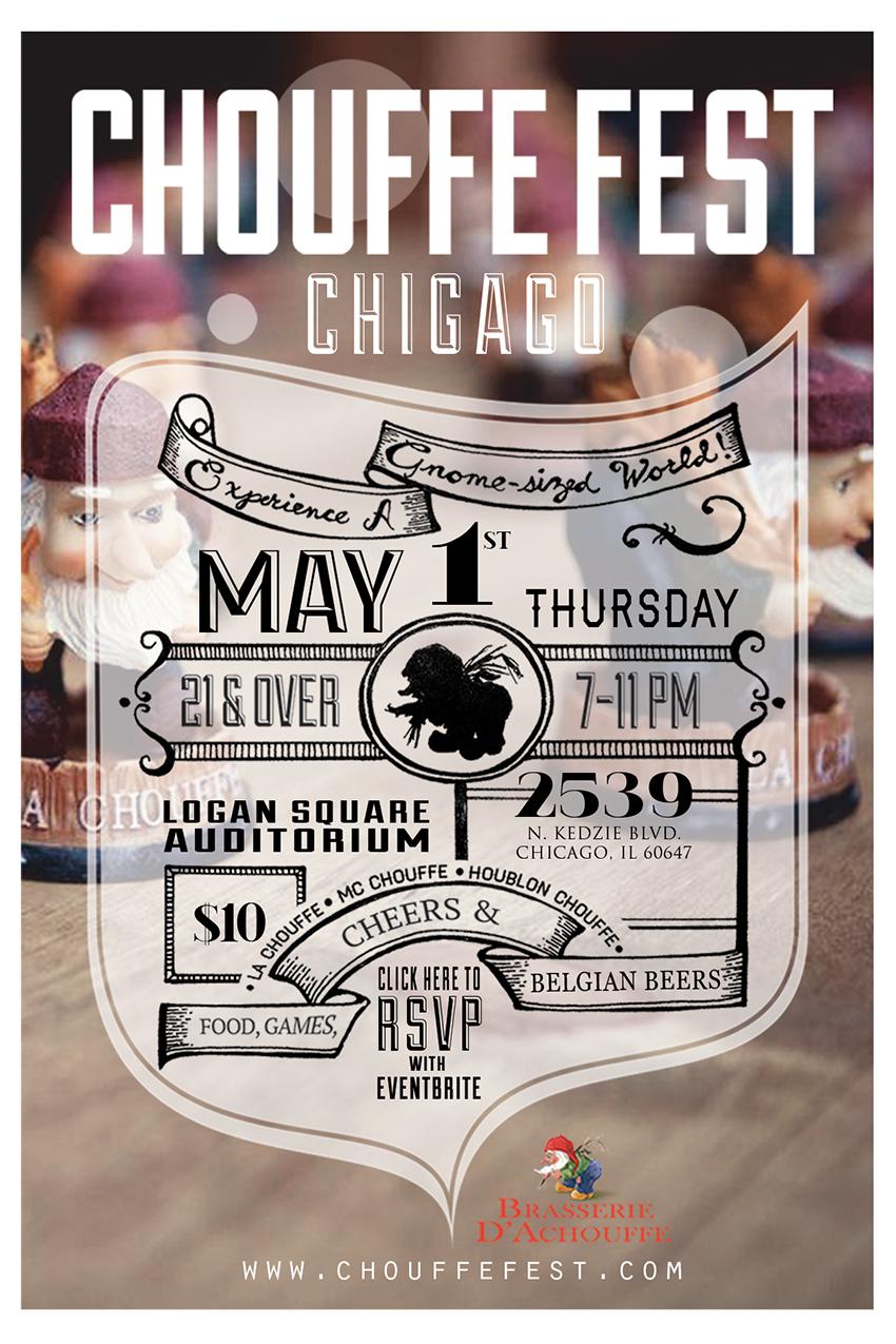Chouffe Fest Chicago - eventbrite flyer small
