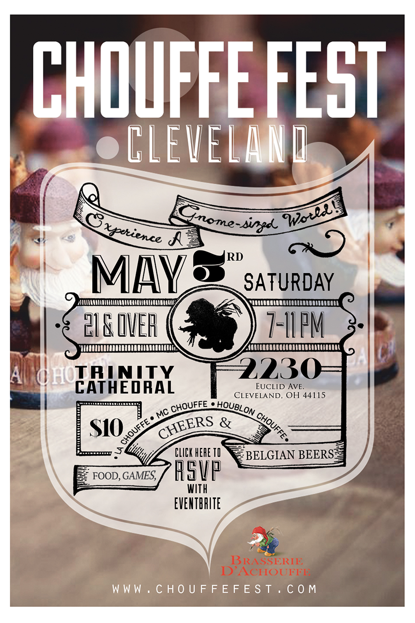 Chouffe Fest Cleveland - eventbrite flyer small