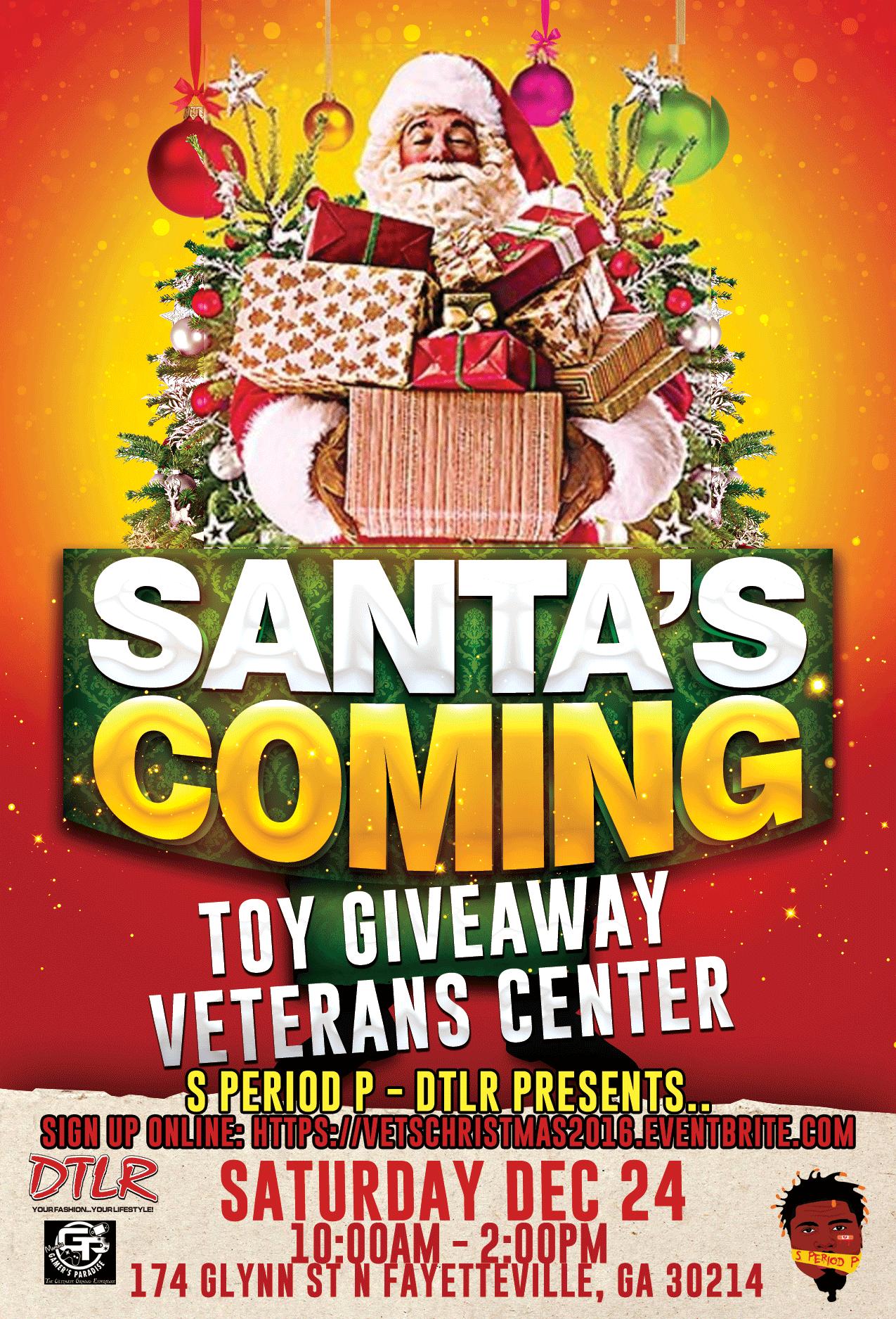 2016 Veterans Center Christmas