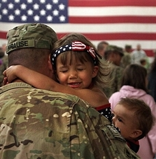 Military Family Reconnecting