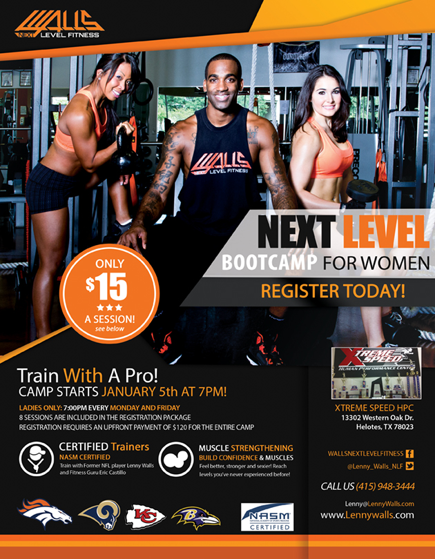 Walls Next Level Fitness Boot Camp For Ladies