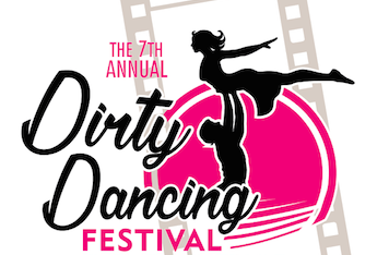 Logo for the Dirty Dancing Festival in Lake Lure, NC
