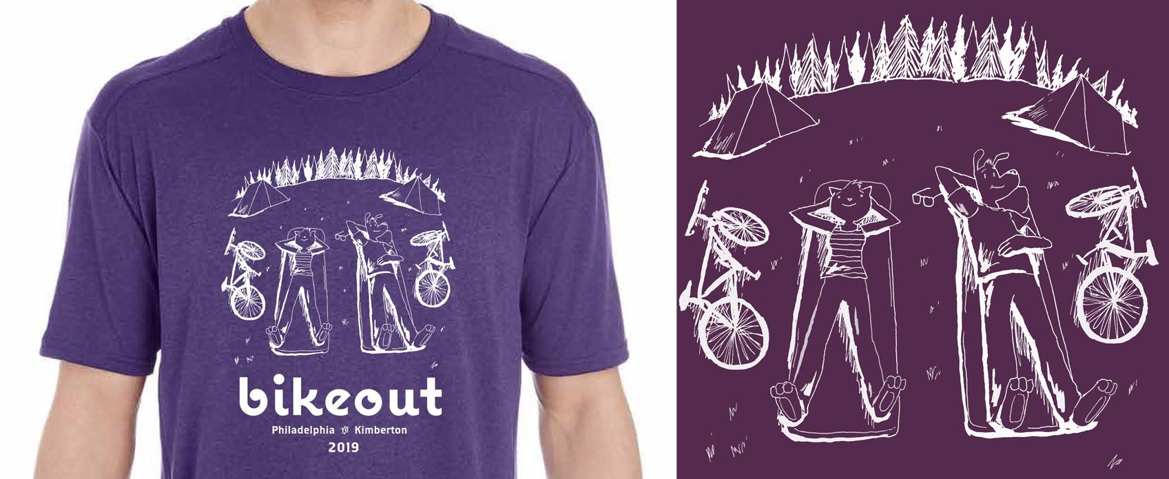 Bikeout T-shirt