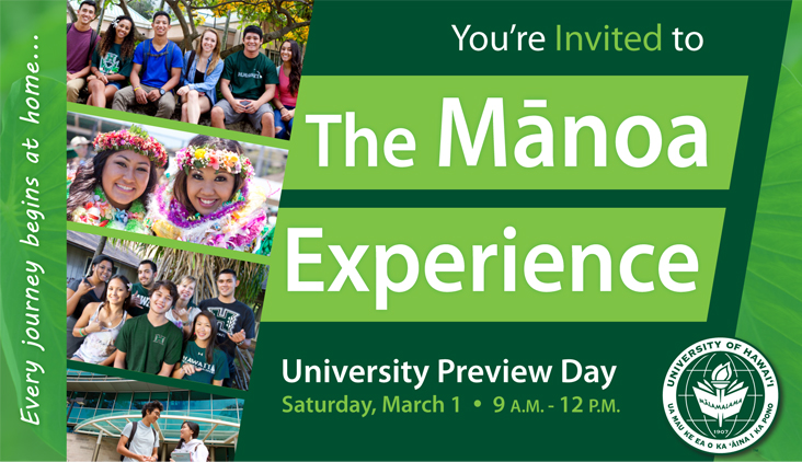 The Manoa Experience - University Preview Day