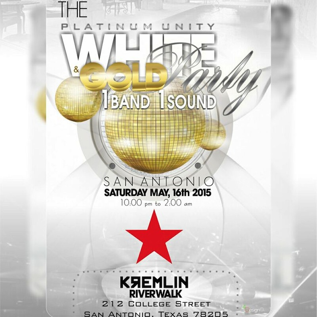 Platinums White & Gold Party