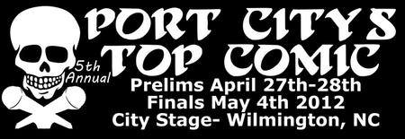 Port City's Top Comic Prelim Round 1