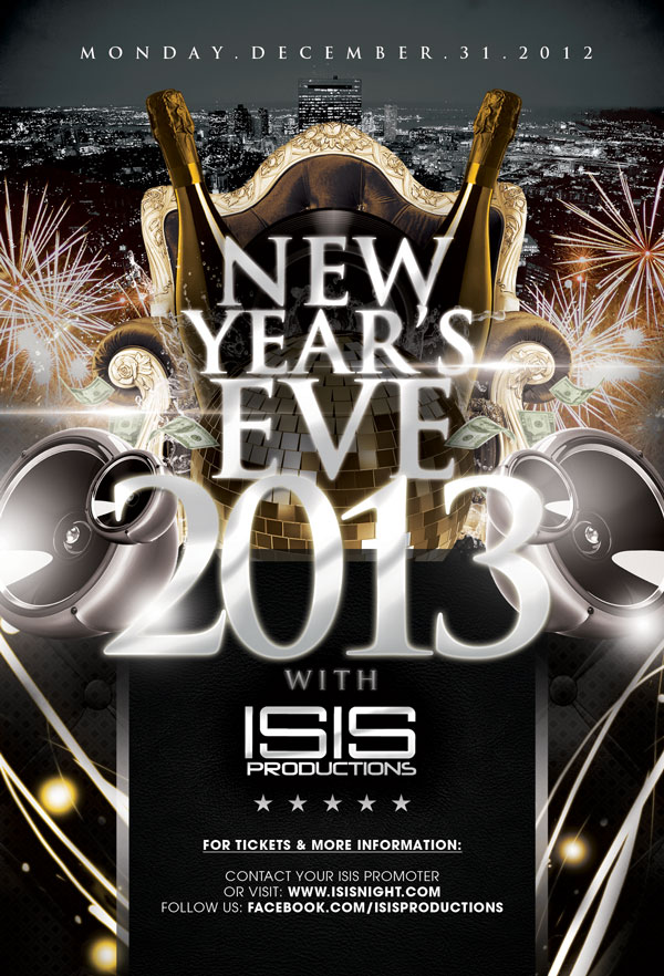 New Year's Eve 2013 with ISIS Productions