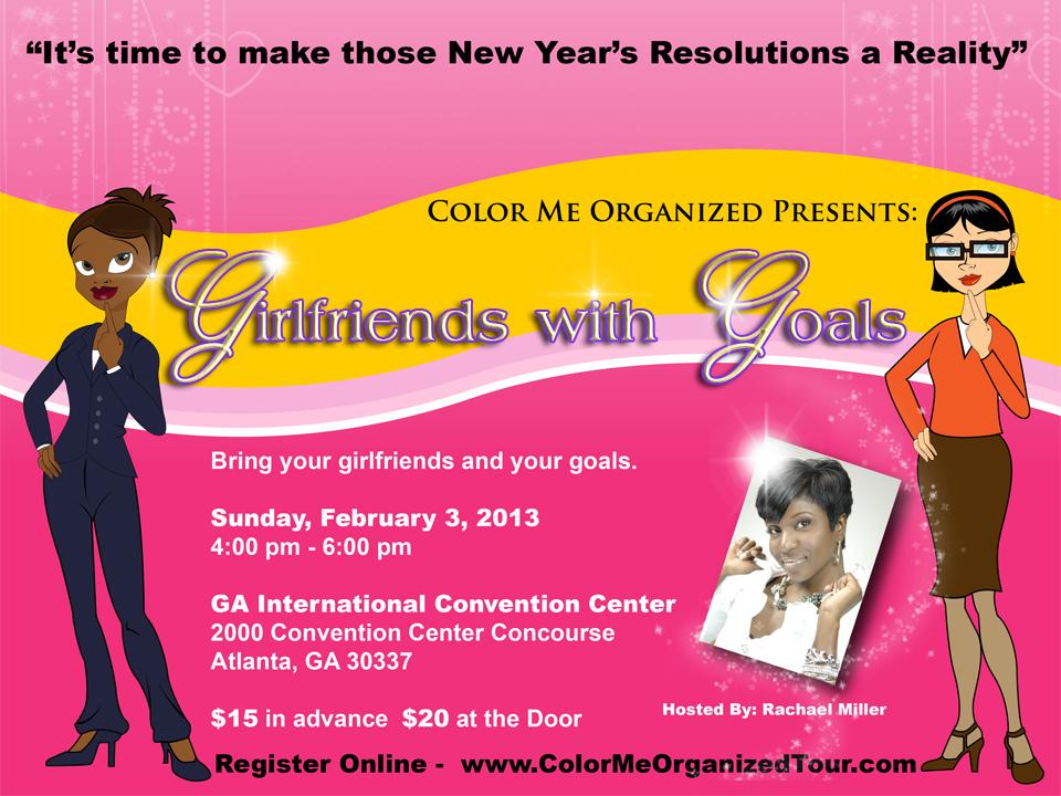 Girlfriends with Goals Flyer