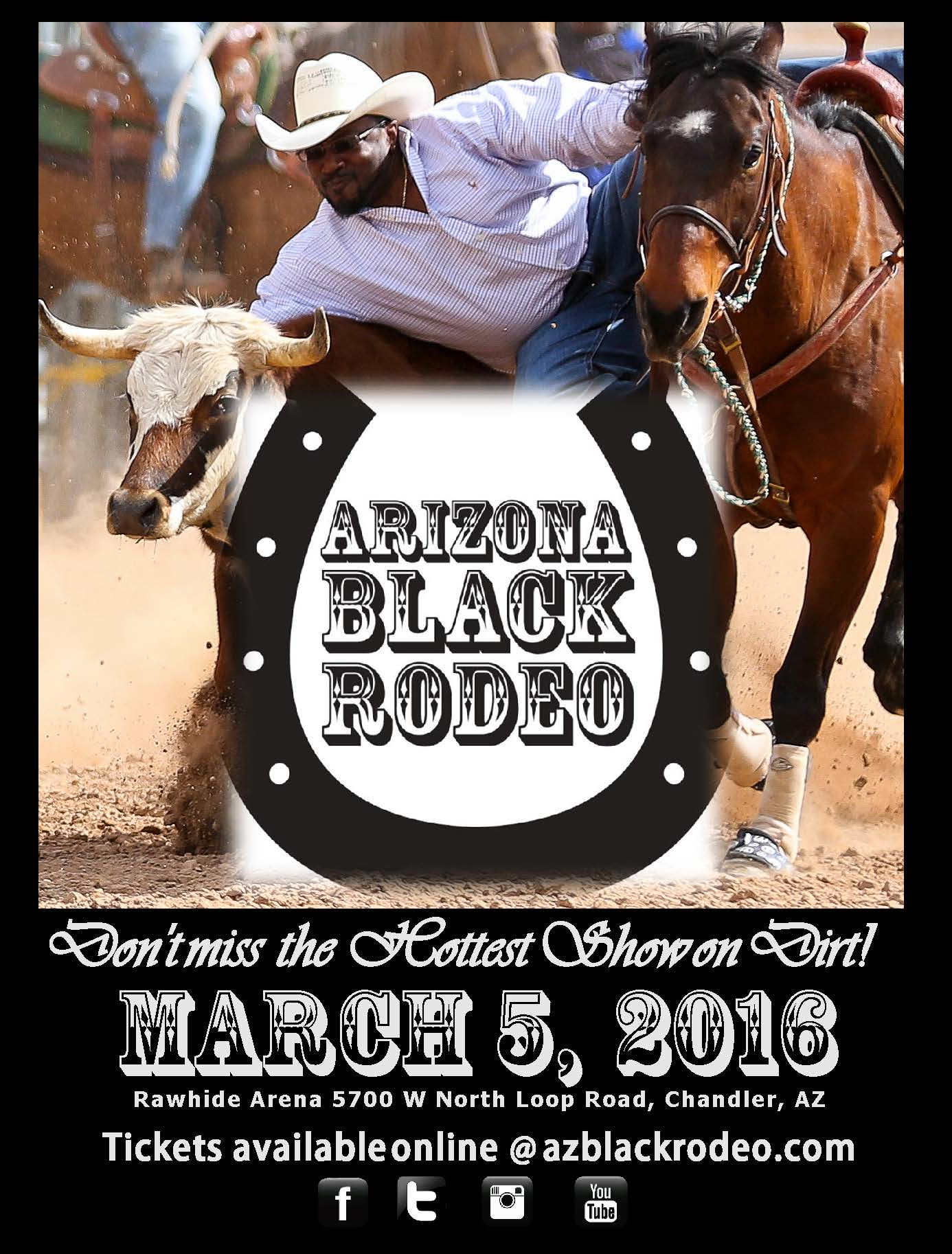 Arizona Black Rodeo 2016 Tickets Sat Mar 5 2016 At 1 00