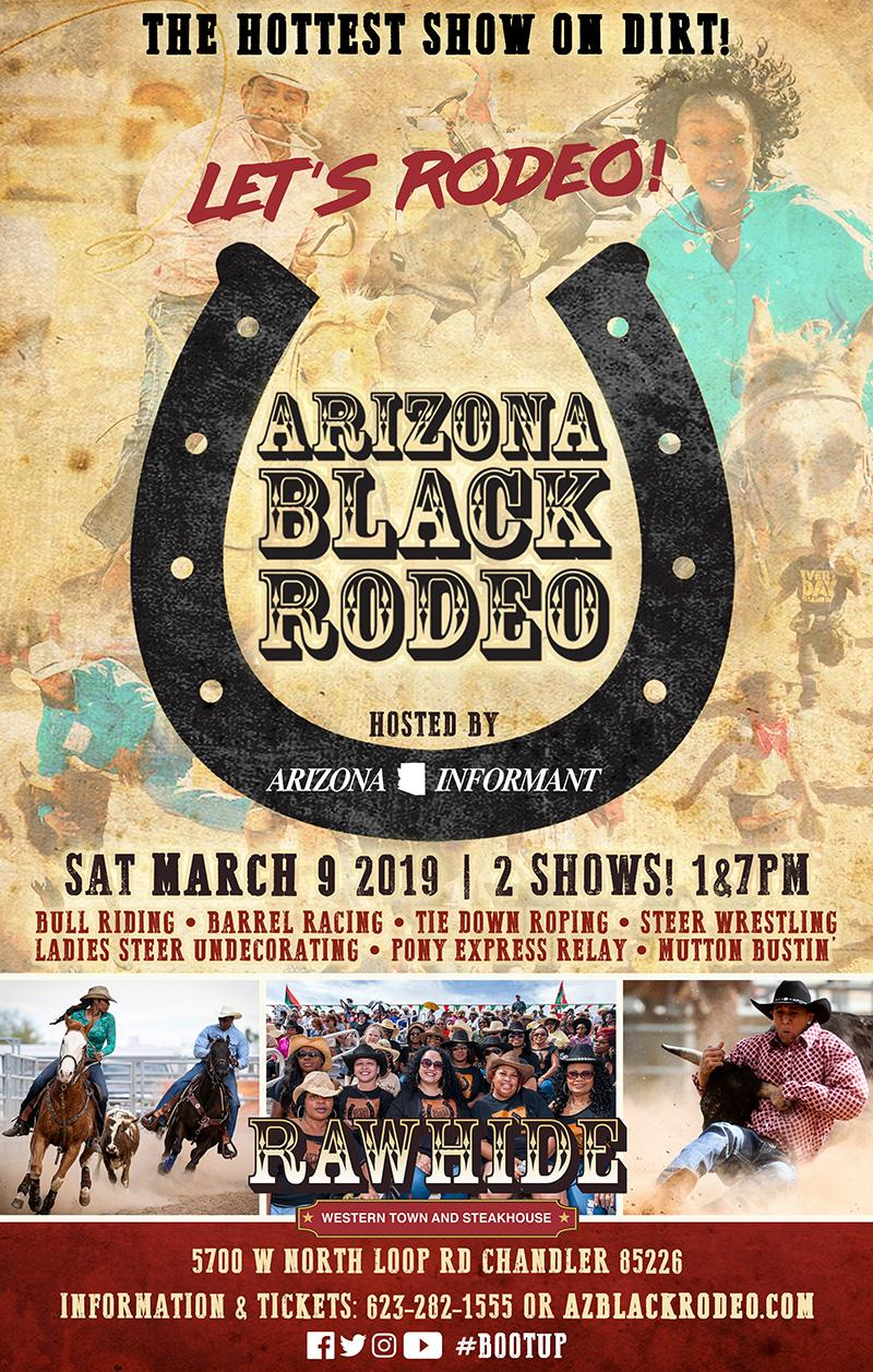 March 9 Arizona Black Rodeo Presented By The Arizona