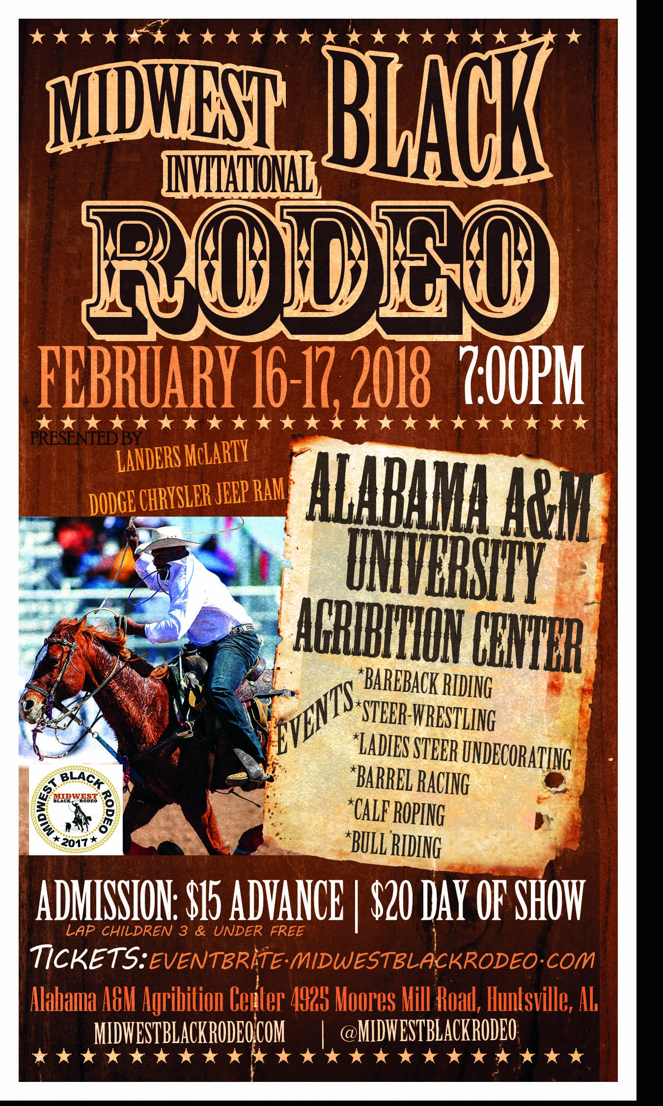Midwest Black Rodeo Flyer