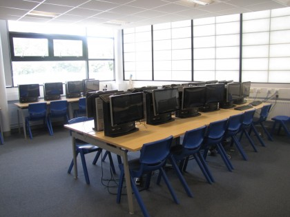 ICT Suite at the West Green Learning centre