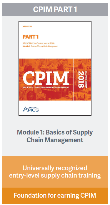 APICS CPIM Part 1 online learning system