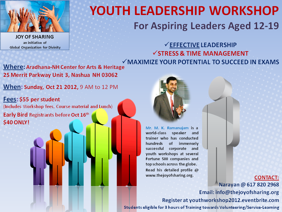 Youth Leadership Workshop - New England