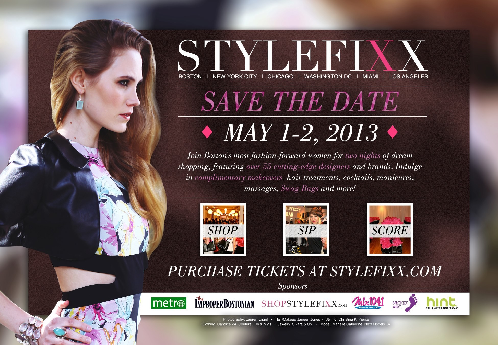 StyleFixx Premier Shopping Events