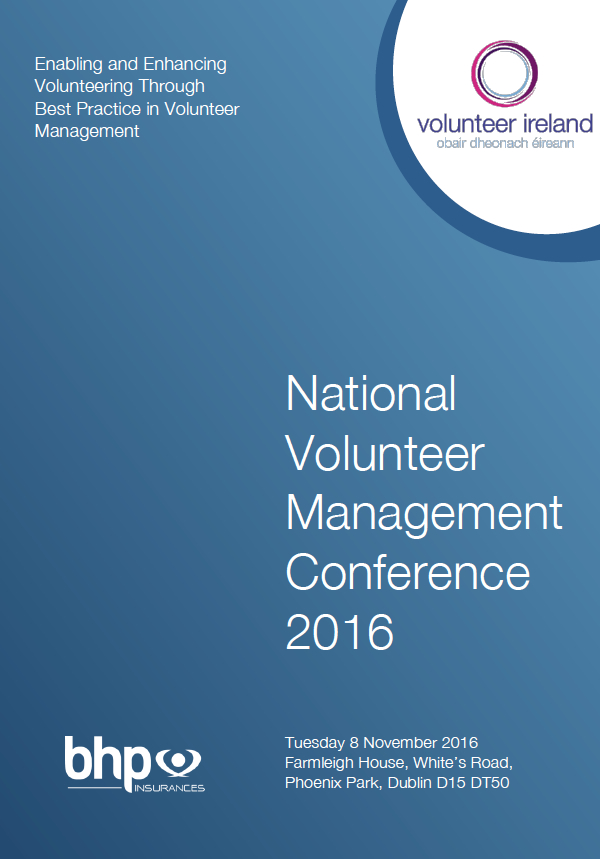 National Volunteer Management Conference 2016