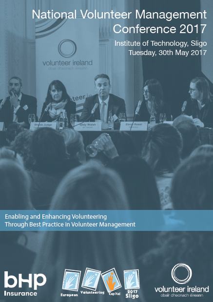 Download a copy of the programme for the National Volunteer Management Conference Programme 2017