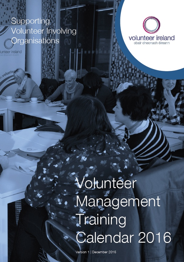 Volunteer Management Training Calendar