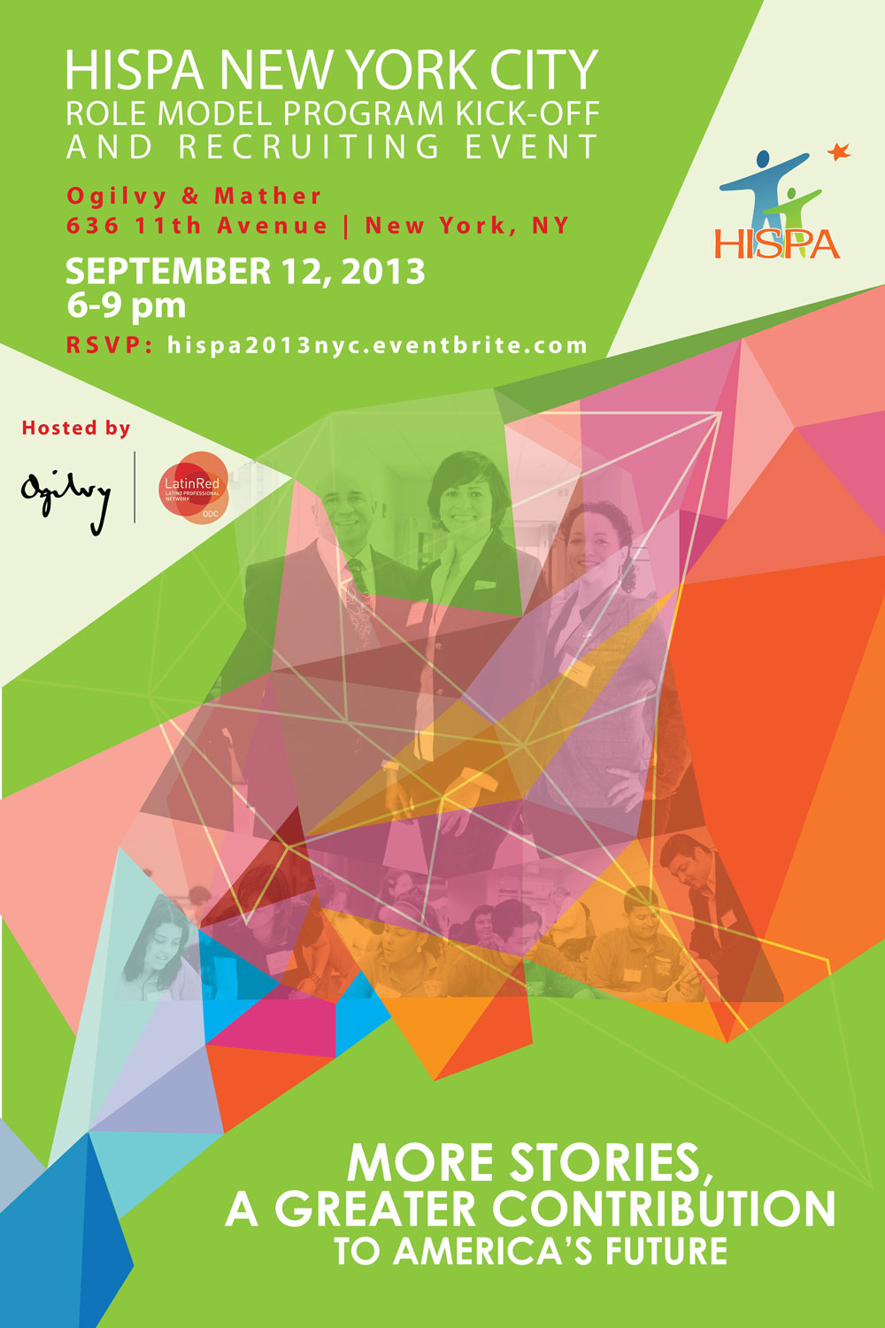 HISPA NYC Kick-Off and Recruiting Event, September 12, 2013