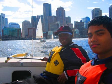 Kids Sailing With Courageous