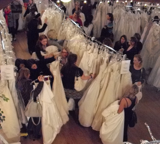 Volunteer brides for a cause wedding dress sale san for Wedding dresses in san jose ca