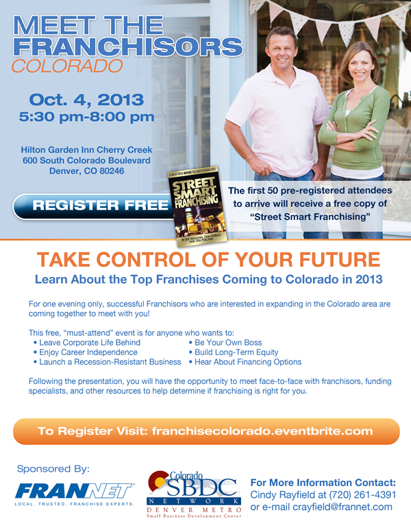 Meet the Franchisors October 4, 2013