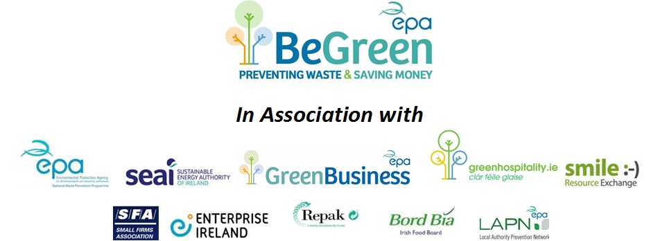 Supporters of the BeGreen Roadshow