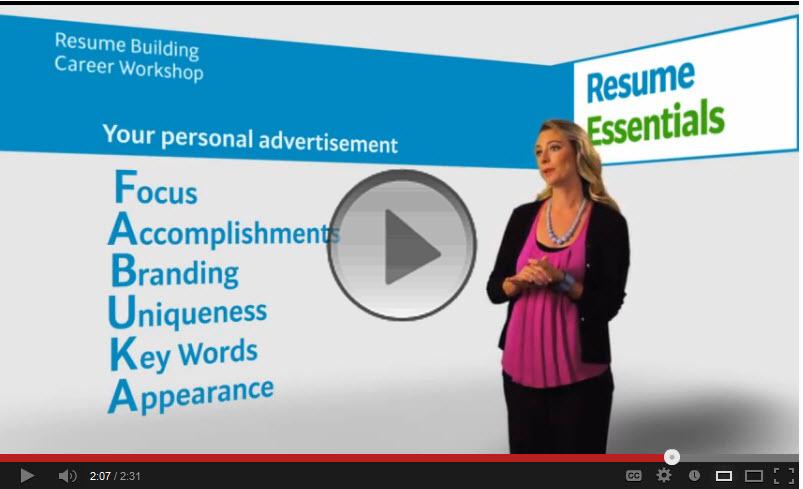 Resume Essentials Tips