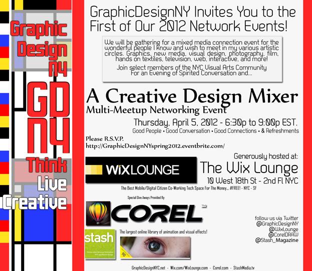 GraphicDesignNY Event April 2012