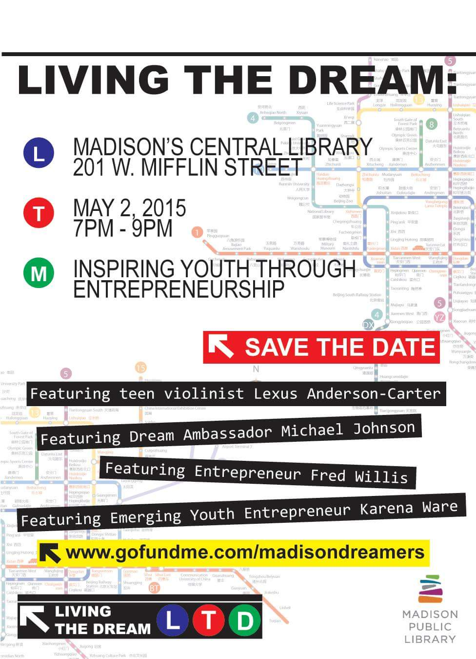 Living The Dream Launch Party - Save the Date