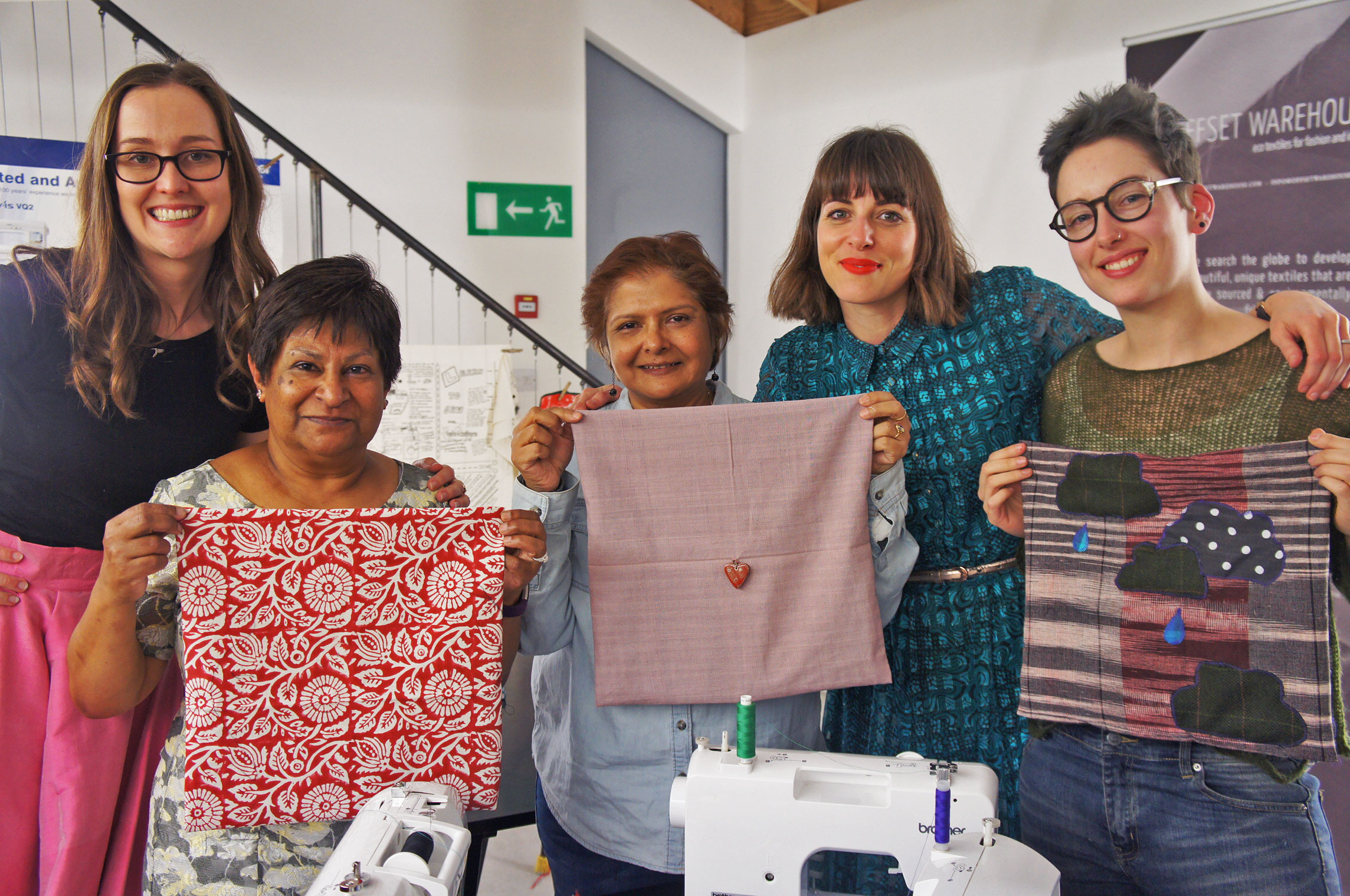 eco fabric sewing party Offset Warehouse Fabrications
