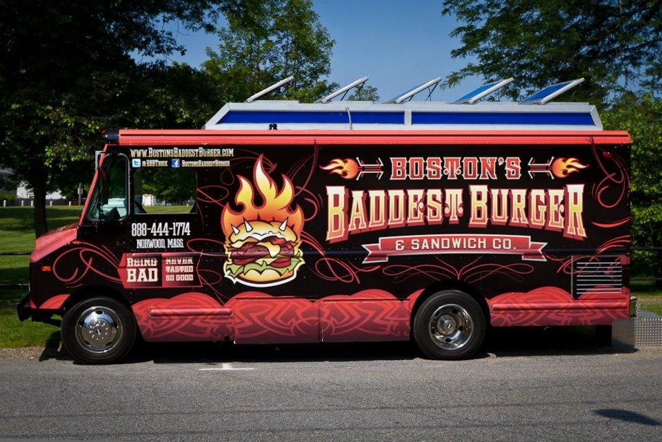 Boston's Baddest Burger