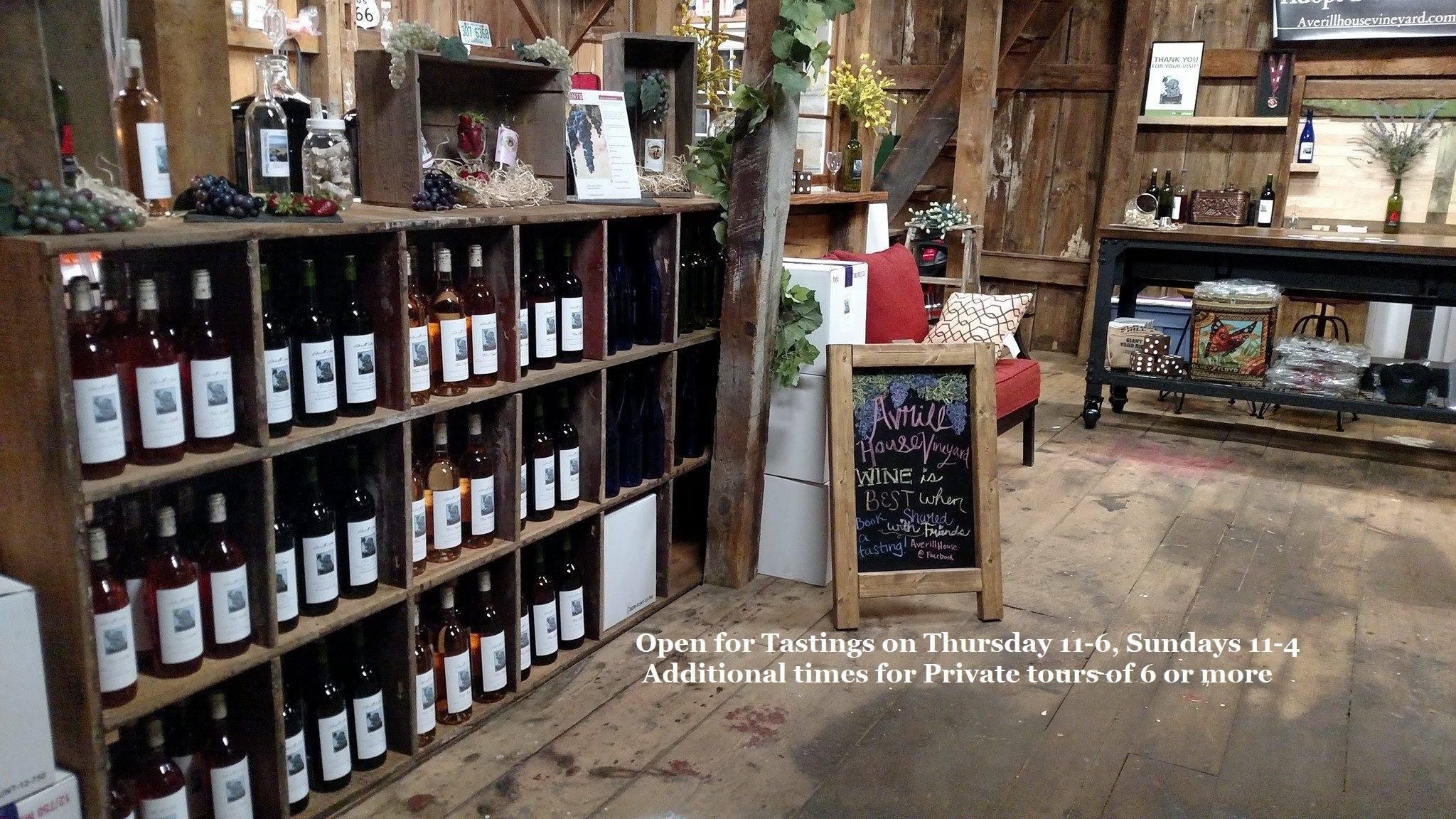 Averill House Vineyard Wine case