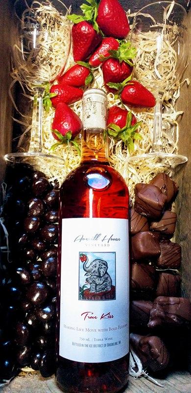 Bottle of Kiss Averill  House Vineyard