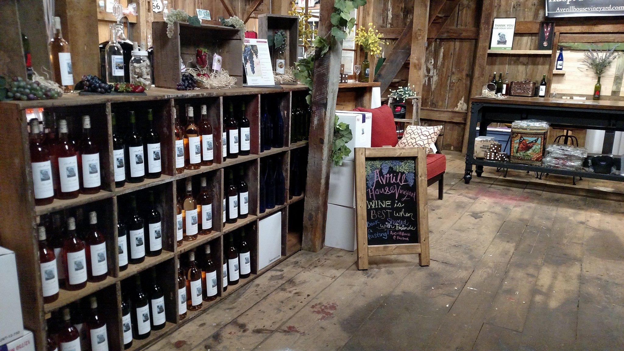Averill House Vineyard Tasting Room