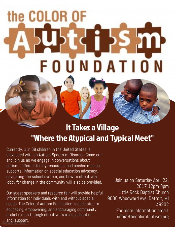 It Takes a Village Autism Event