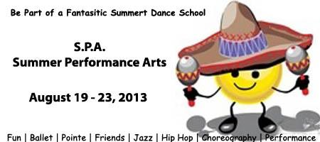 S.P.A.    SUMMER PERFORMANCE ARTS