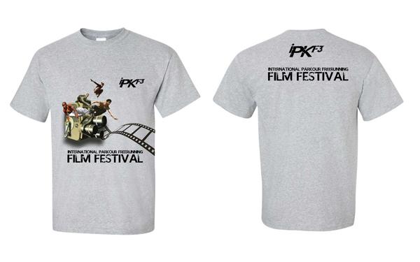 international Parkour Freerunning Film Festival Tee