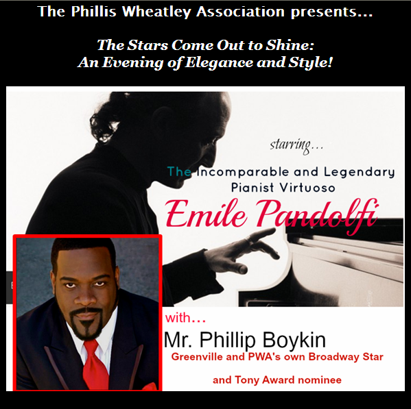 Emile Pandolfi and Phillip Boykin
