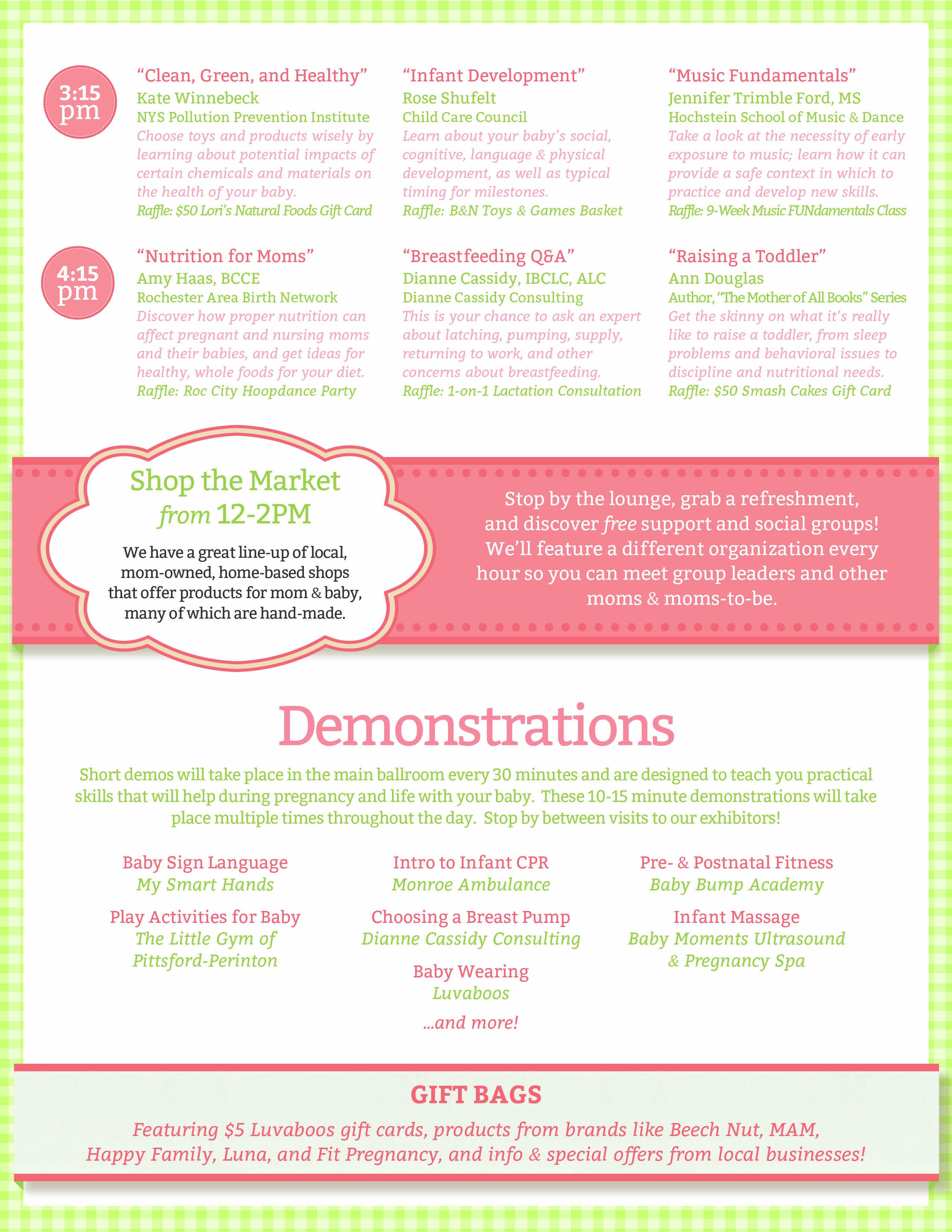 Beyond the Bump 2013 Event Overview (page 3)