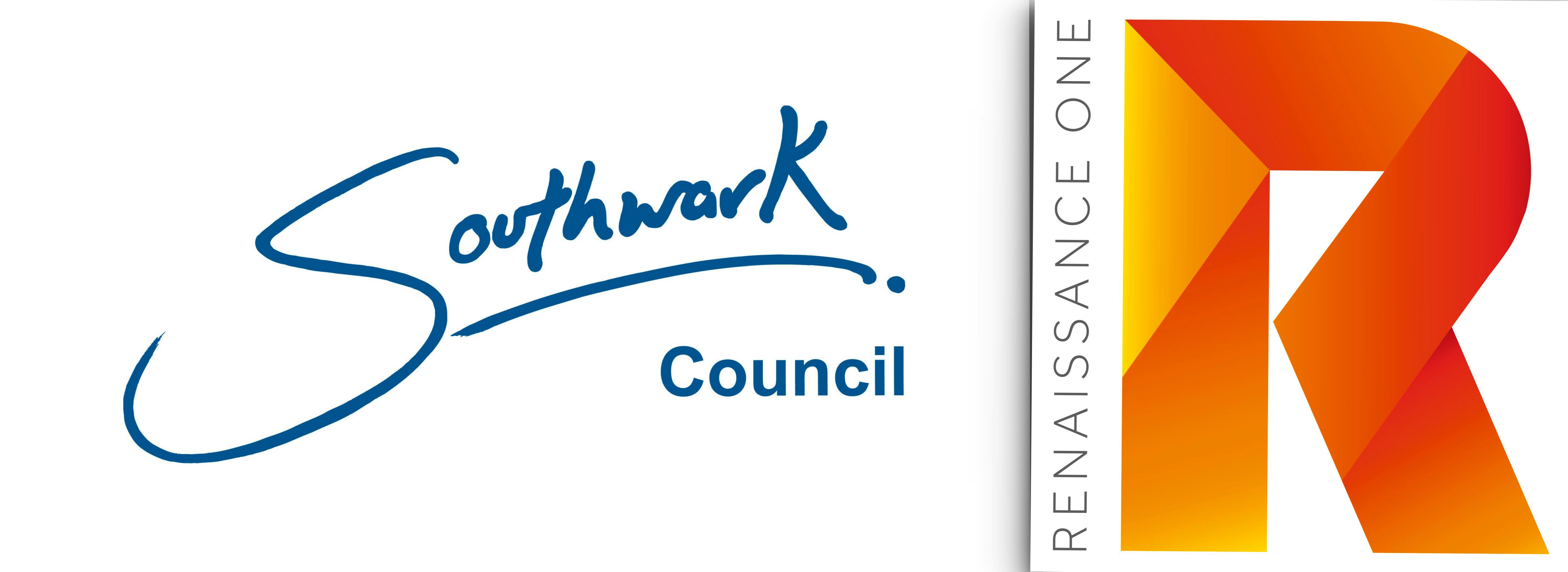 logos of Southwark Council and Renaissance One