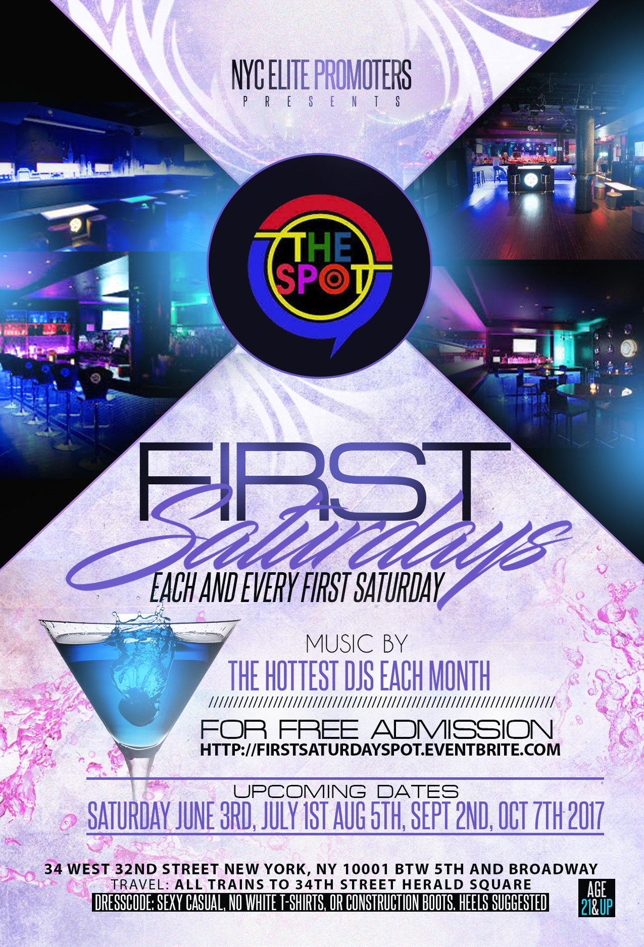 First Saturday at the SPOT